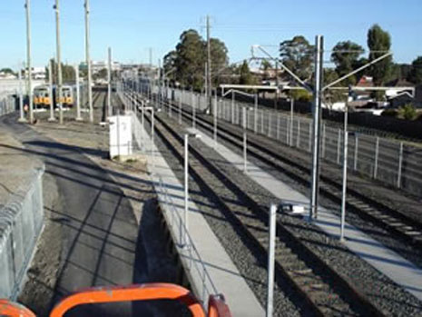 Construction of Extension to Stabling Facility at Blacktown Station img 1